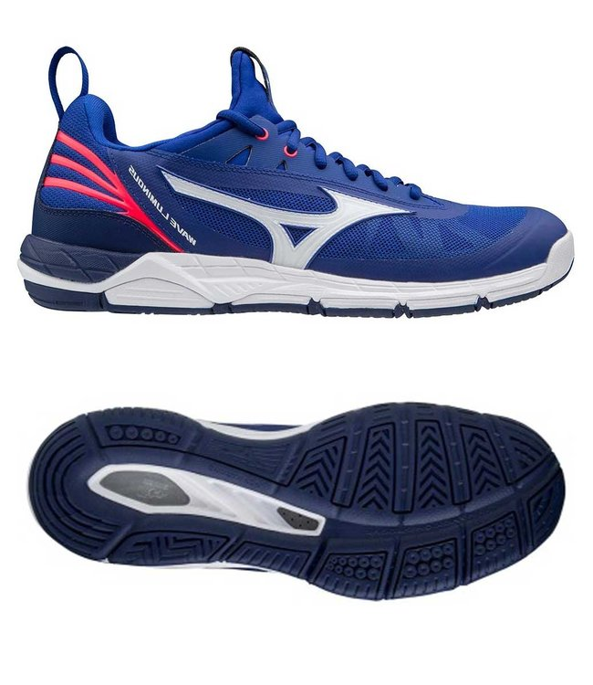 Mizuno Wave Luminous  REFLEX BLUEC/WHT/DIVAPINK