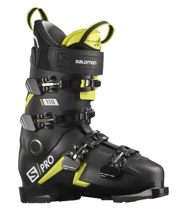 Salomon S/Pro 110  black/acid green/white GripWalk