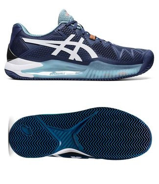 Asics Gel-Resolution 8 clay MAKO BLUE / WHITE