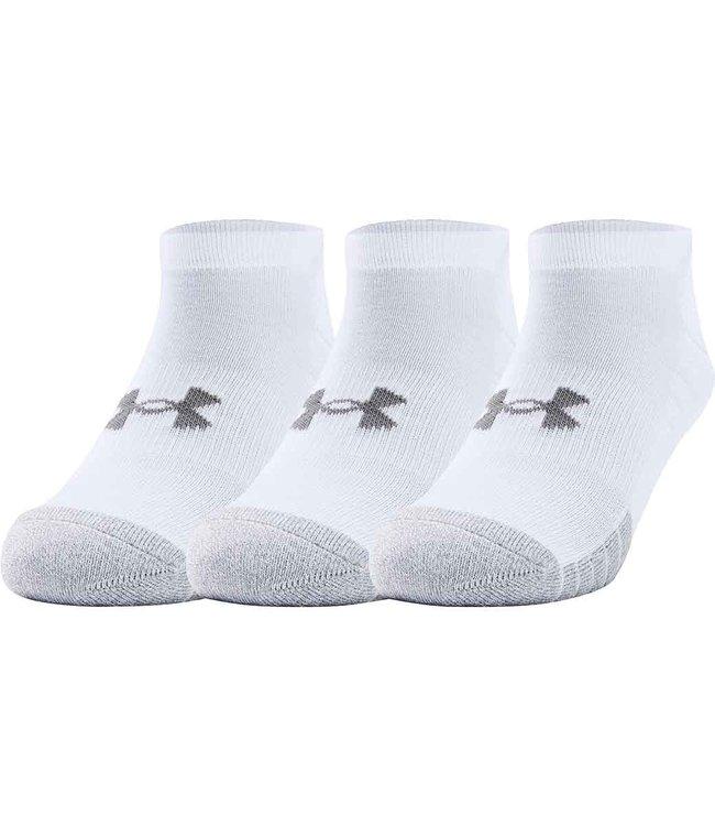 Under Armour UA Heatgear-Locut socks white