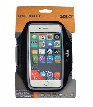 GATO sports Arm pocket XL telefoonhouder zwart