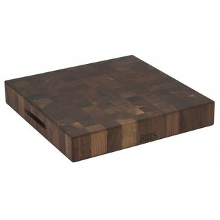 Walnut Collection hakblok 46 x 46 x 7,5 cm walnoot