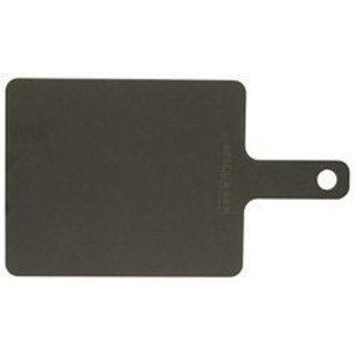 """Handy snijplank met handvat 23 x 19 cm (9"""" x 7,5"""") zwart"""