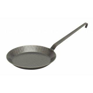 Gesmede koekenpan met gelaste steel ø 20 cm | Ruit