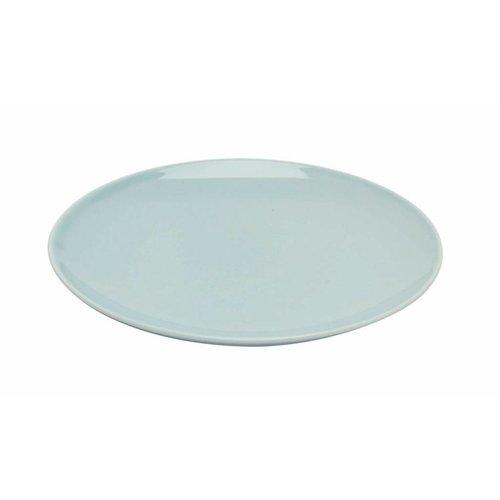 Pillivuyt servies Bretagne lichtblauw bord 'Louna' ø 21 cm