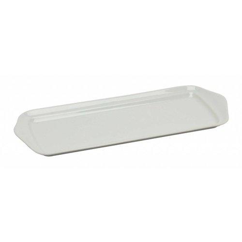 Pillivuyt servies CG schaal rechthoek 37,3 x 14,7 cm