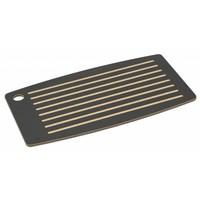 """Epicurean Bread board broodsnijplank met groeven 46 x 25,5 cm / 18"""" x 10"""" zwart"""