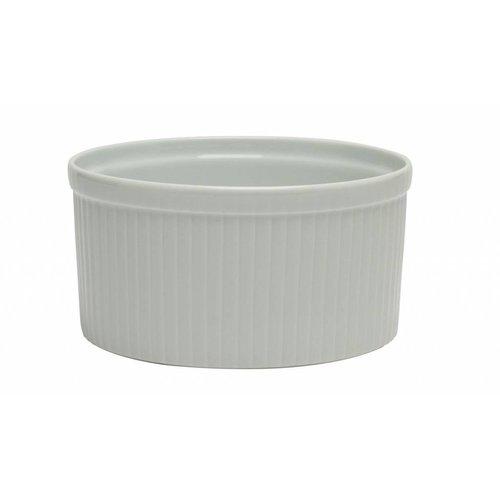 Pillivuyt oven CG souffleschaal geplooid diep S/extra ø  20,5 cm