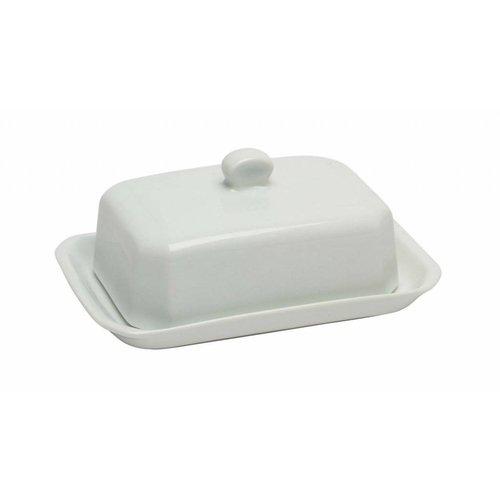 Pillivuyt servies CG botervloot met deksel 18,2 x 11,6 cm