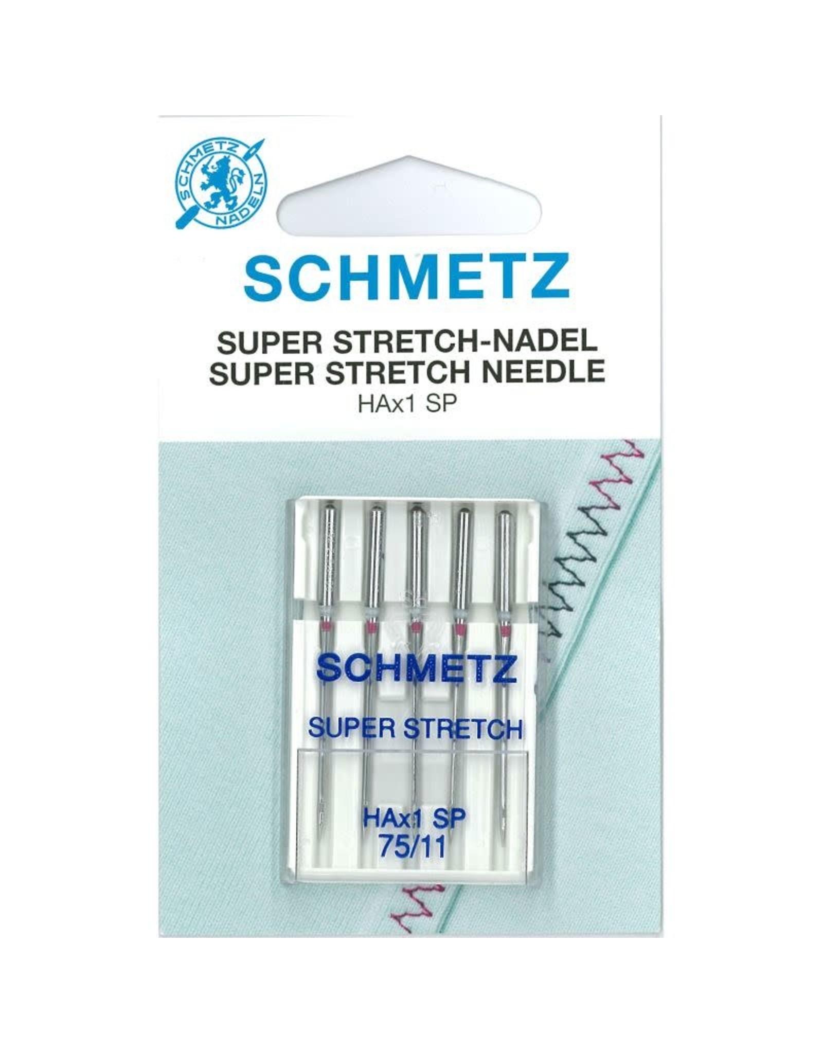 Schmetz Schmetz Super stretch 75ZB (kaart)*