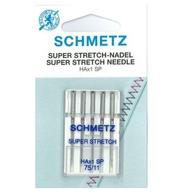 Schmetz Schmetz Super stretch 75ZB (kaart)*