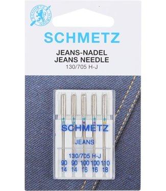 Schmetz Schmetz Jeans 5 naalden 90-110 - 10st