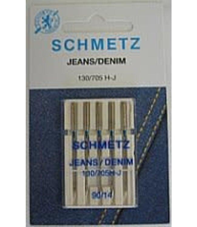 Schmetz Schmetz Jeans 5 naalden 90-14 - 10st