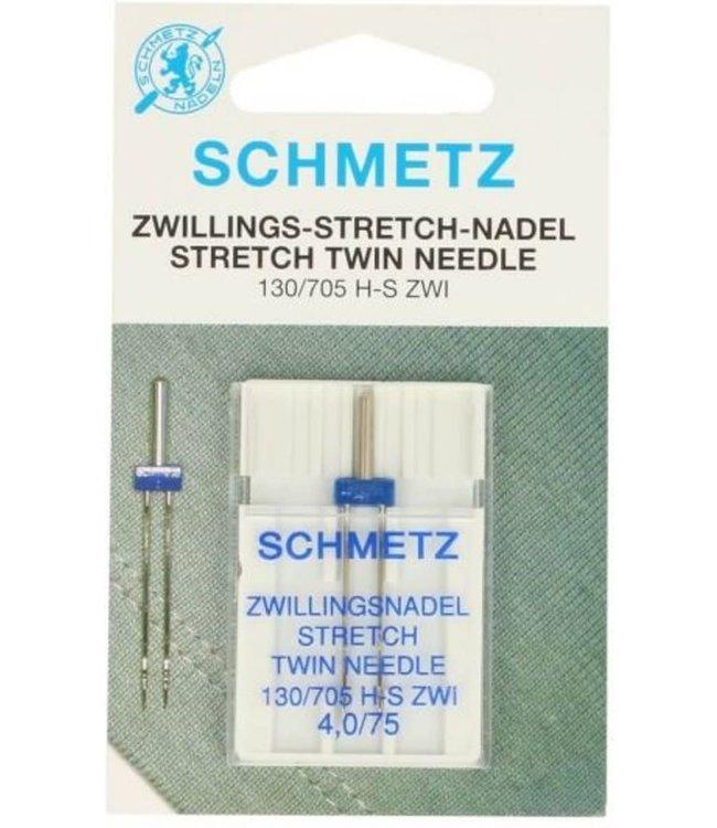Schmetz Schmetz Stretch tweeling 1 naald 4.0-75