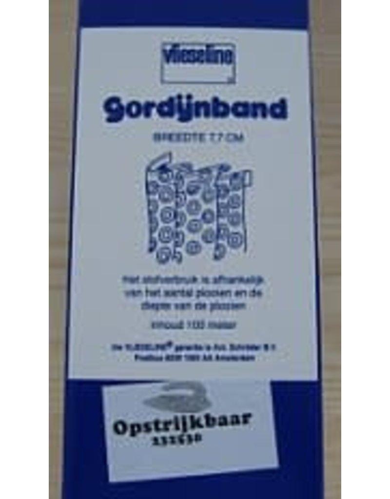 A. Schroder Home Deco Gordijnband Opstrijkbaar 7,7cm (mtr