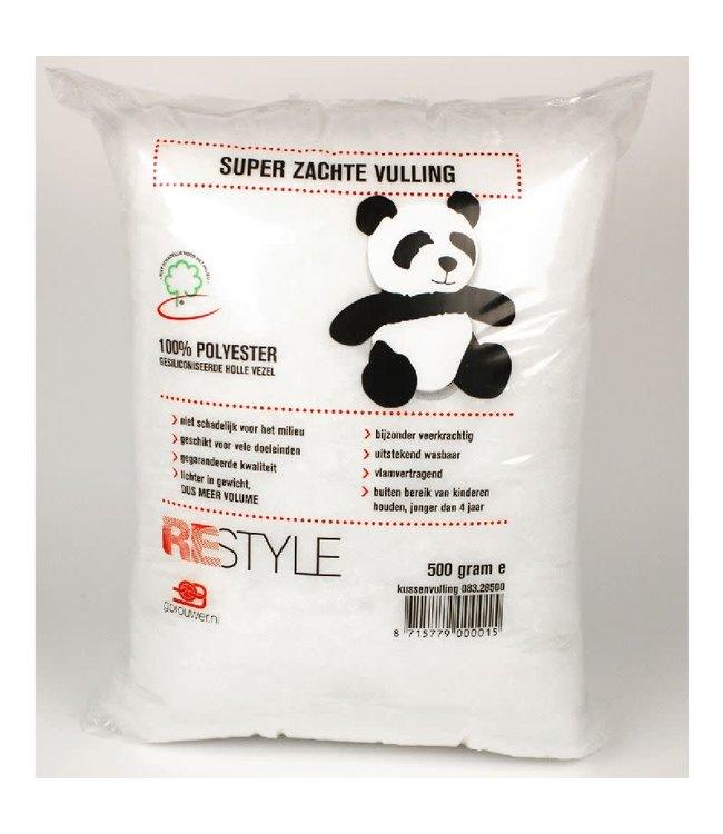 Restyle Kussenvulling 500 gram (stk)*