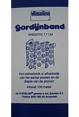 A. Schroder Home Deco Gordijnband 7,7cm Naaibaar (mtr)*