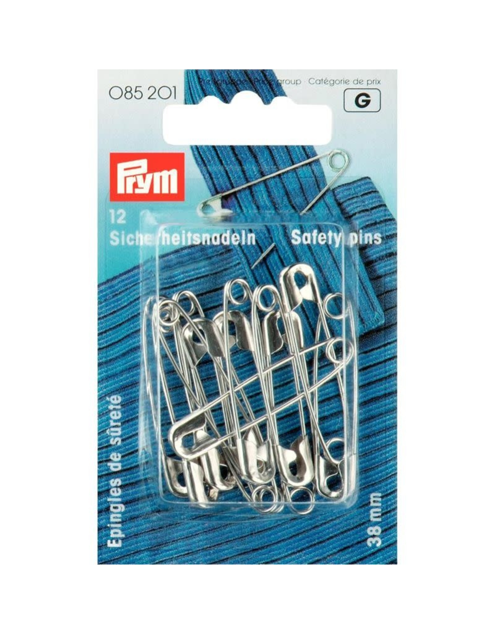 Prym Prym Veiligheidsspelden 38mm (krt)
