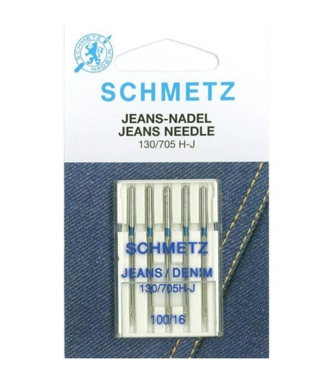 Schmetz Schmetz Jeans 5 naalden 100-16 - 10st
