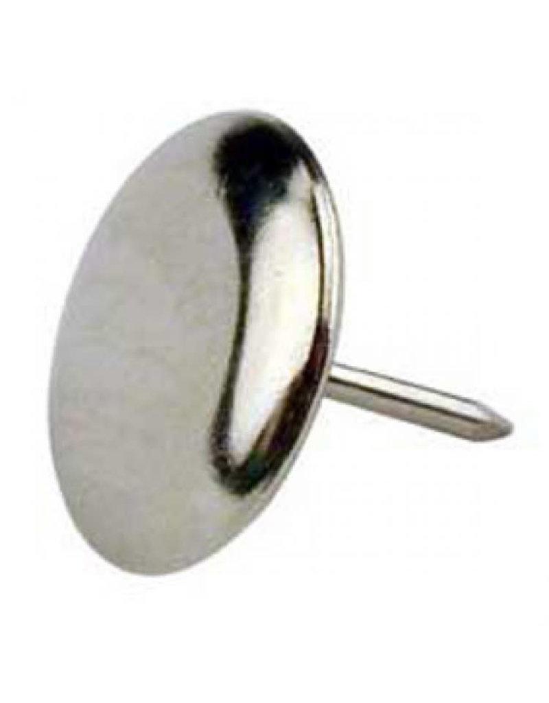 Glijnagel, staal vernikkeld diameter 18 mm per 4 stuks