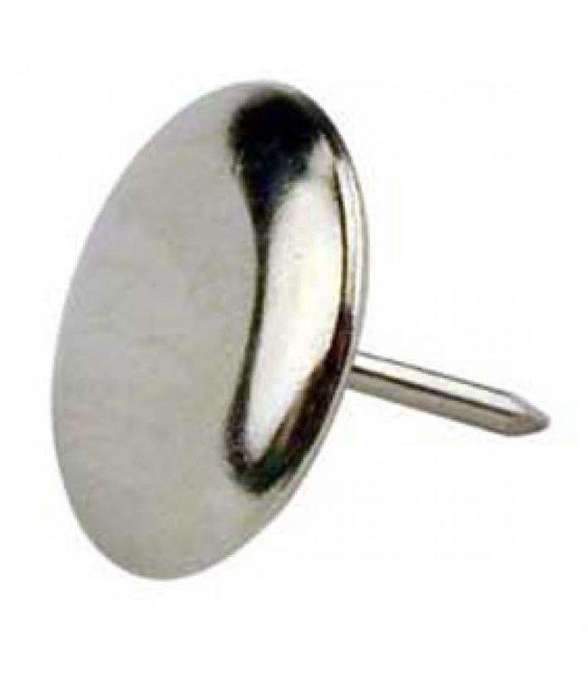 Glijnagel, staal vernikkeld diameter 25 mm per 4 stuks
