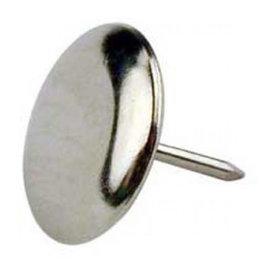 Glijnagel, staal vernikkeld diameter 30 mm per 4 stuks
