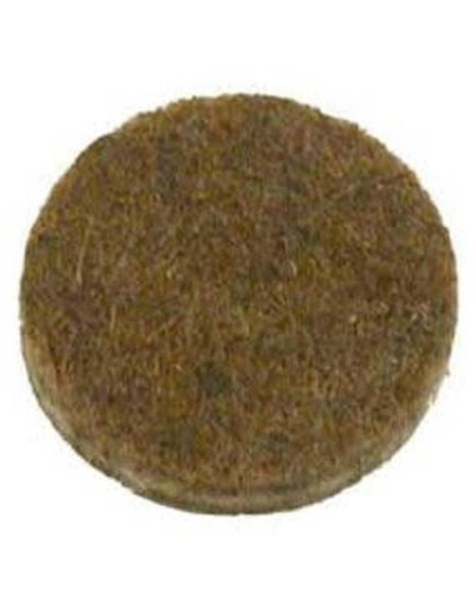 Anti-krasvilt, zelfklevend bruin ø22 mm per 12 stuks