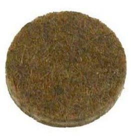 Anti-krasvilt, zelfklevend bruin ø22 mm per 12 stuk