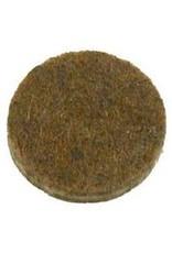 Anti-krasvilt, zelfklevend bruin ø28 mm per 9 stuks