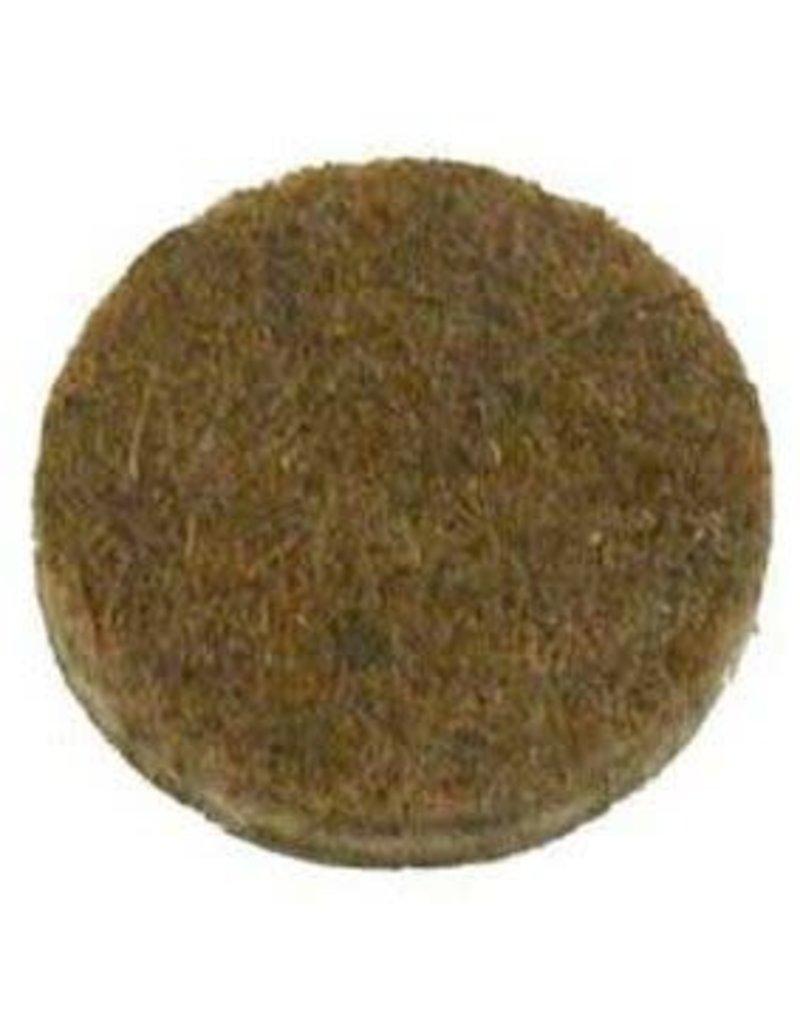 Anti-krasvilt, zelfklevend bruin ø35 mm per 6 stuk