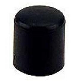 Meubeldop, kunststof voor om ronde poot 12 mm