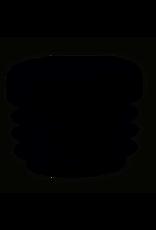 Buisstop rond, kunststof voor in ronde poot 25 mm per 4 stuks