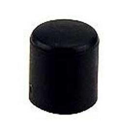 Meubeldop, kunststof voor om ronde poot 28 mm