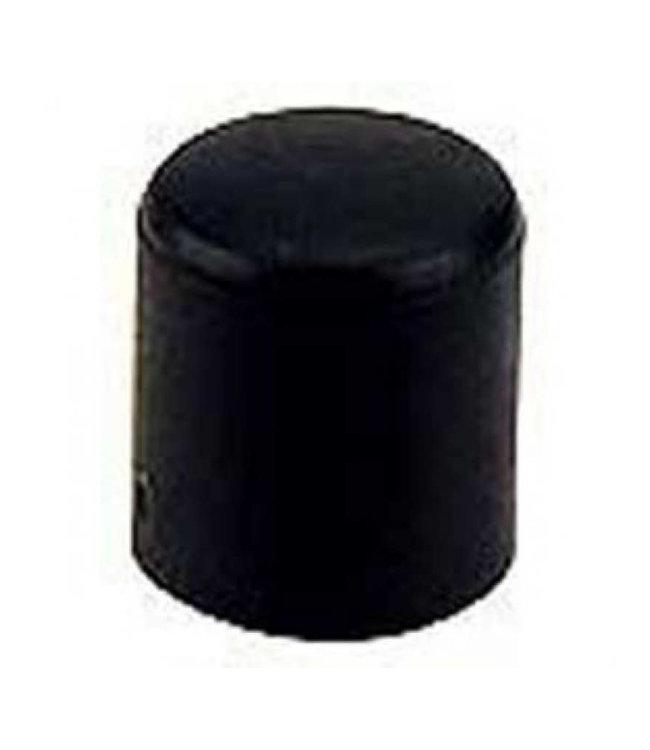 Meubeldop, kunststof voor om ronde poot 28 mm per 4 stuks