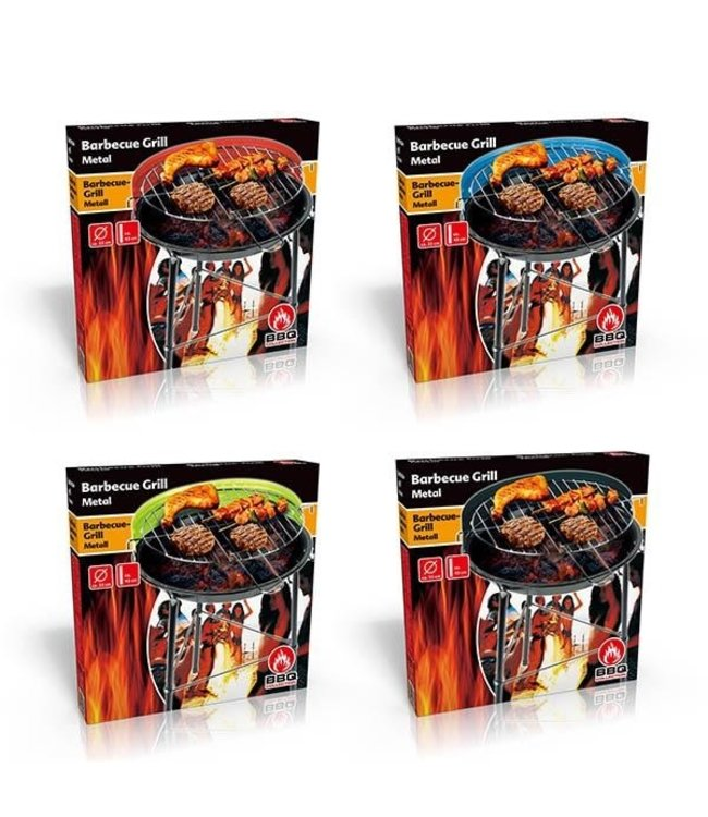 BBQ Collection Barbecuegrill 33x43cm