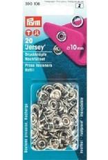 Jersey drukknopen 20 stuks 10 mm navulverpakking