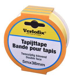 tapijttape dubbelzijdig PP 5m x 38mm