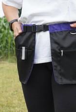 Working Dog Pocket schwarz-lila - Trainingsrock HelsiTar®