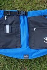 Working Dog Pocket schwarz-blau - Trainingsrock HelsiTar®