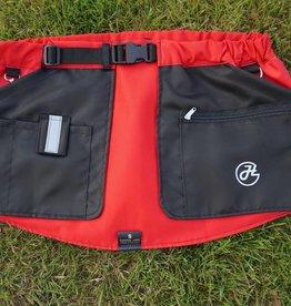 Working Dog Pocket schwarz-rot - Trainingsrock HelsiTar®