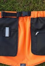 Working Dog Pocket schwarz-orange - Trainingsrock HelsiTar®