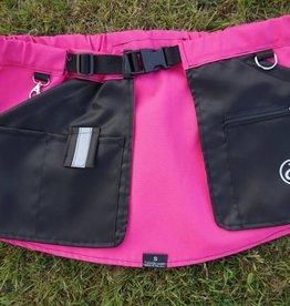 Working Dog Pocket schwarz-pink - Trainingsrock HelsiTar®