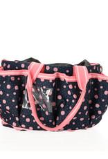 Trainingstasche für Hundehalter navy/pink Pony Pals