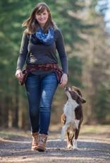 Doppel Hip Bag für Hundebesitzer - braun