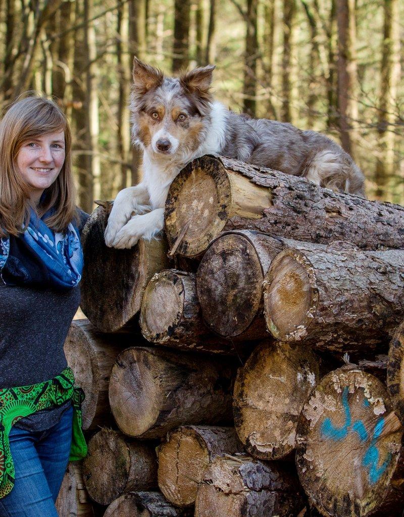 Doppel Hip Bag für Hundebesitzer - hellgrün