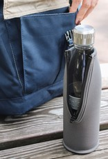 Trinkflasche DREE 650ml Hellgrau mit Packje