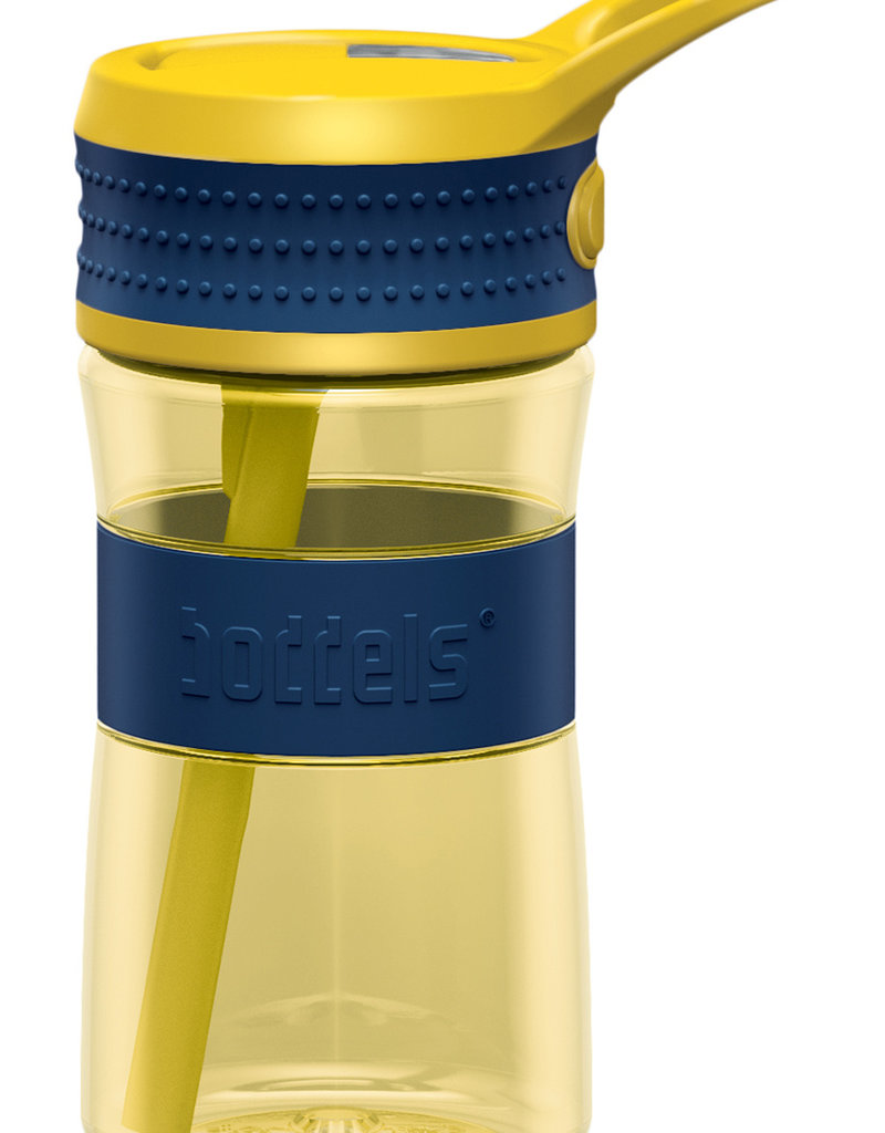 Trinkflasche EEN 400ml Nachtblau / Gelb