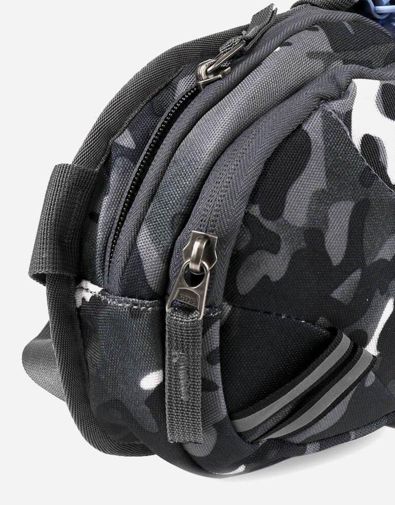 Gürteltasche mit Wasserflaschenhalter camouflage schwarz