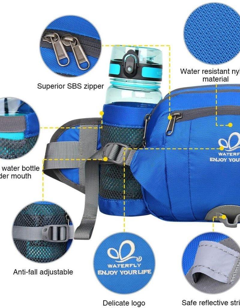 Gürteltasche mit Wasserflaschenhalter