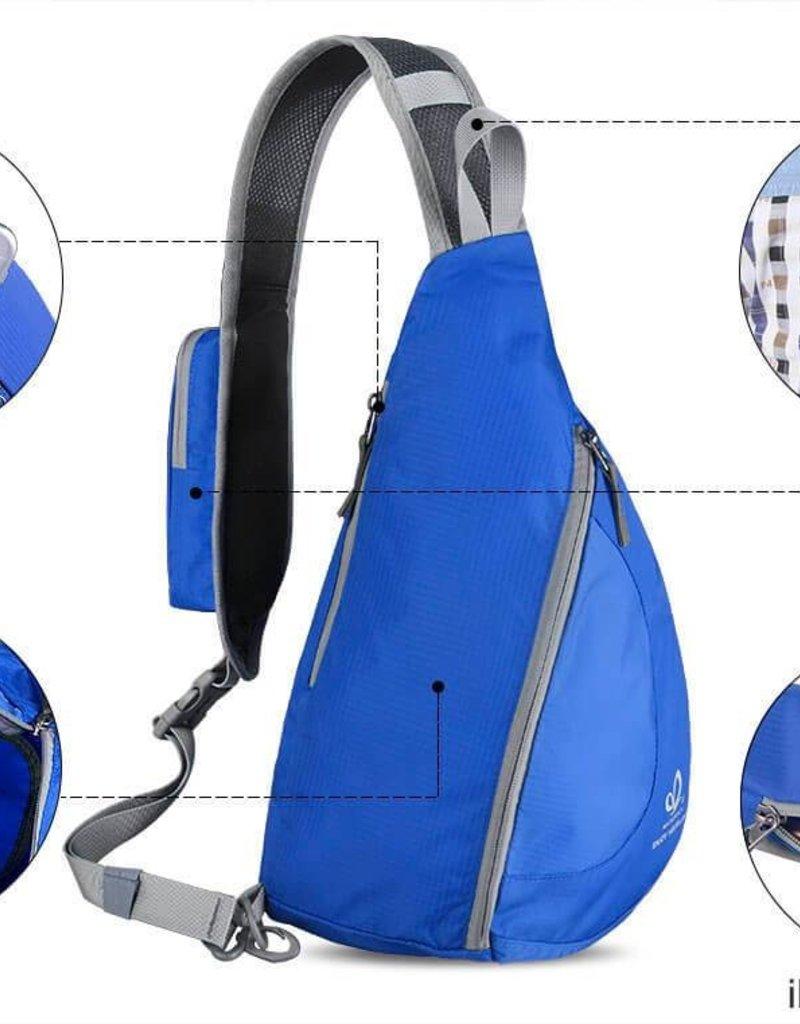 Crossbody blau - Schultertasche für unterwegs